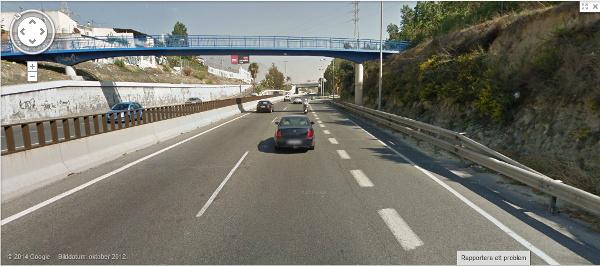 Avfart från Marbella